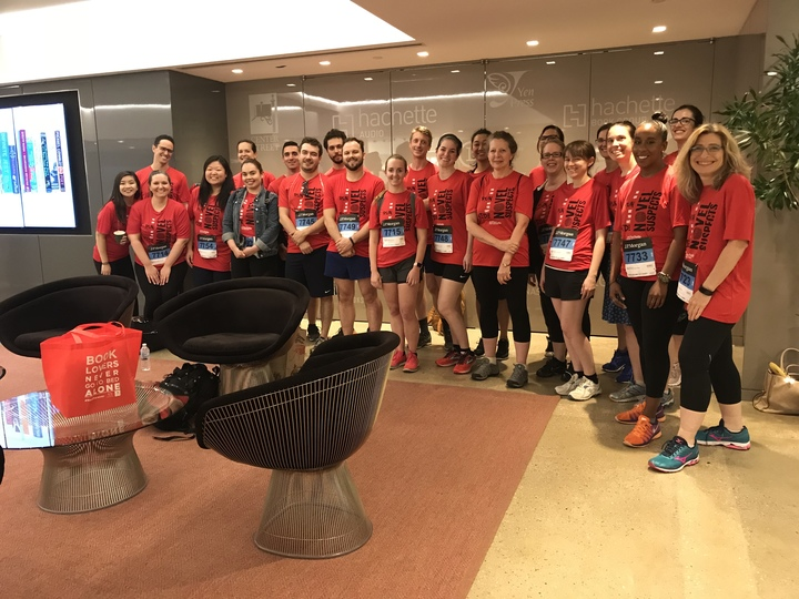 Hachette Book Group Corporate Challenge 2018! T-Shirt Photo