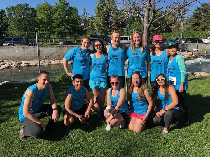 2018 Reno Tahoe Odyssey: Team Run Run Breakfast Burrito!! T-Shirt Photo