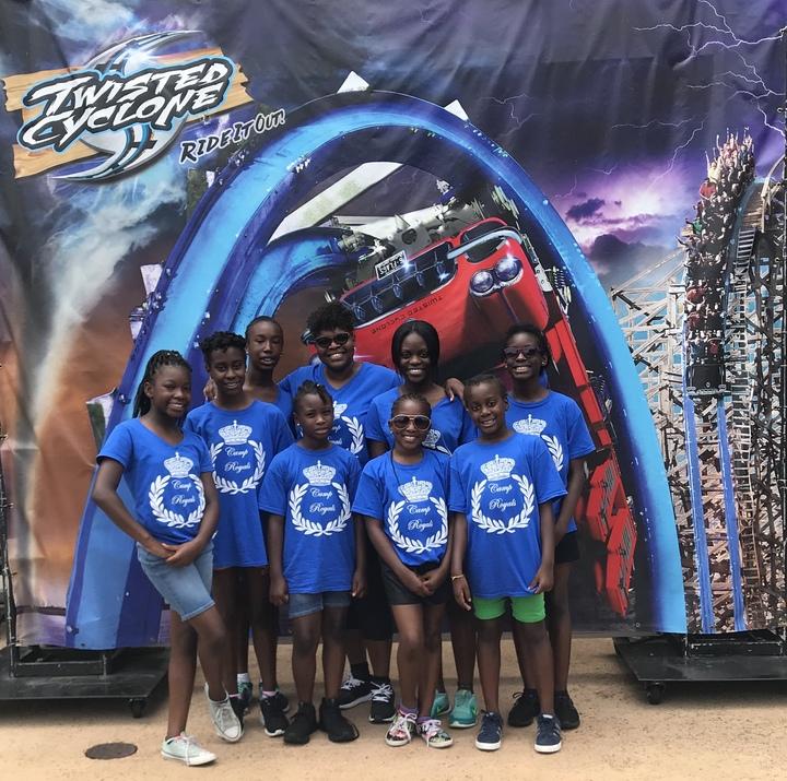 Camp Royals A Day At Six Flags T-Shirt Photo