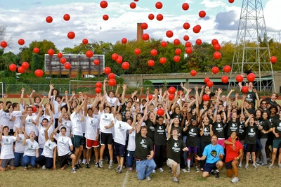 World Record Dodgeball Game @ Mlwgs T-Shirt Photo