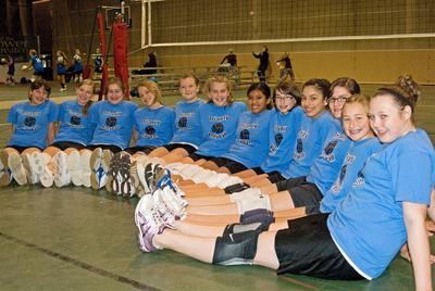 Girl's Volleyball T-Shirt Photo