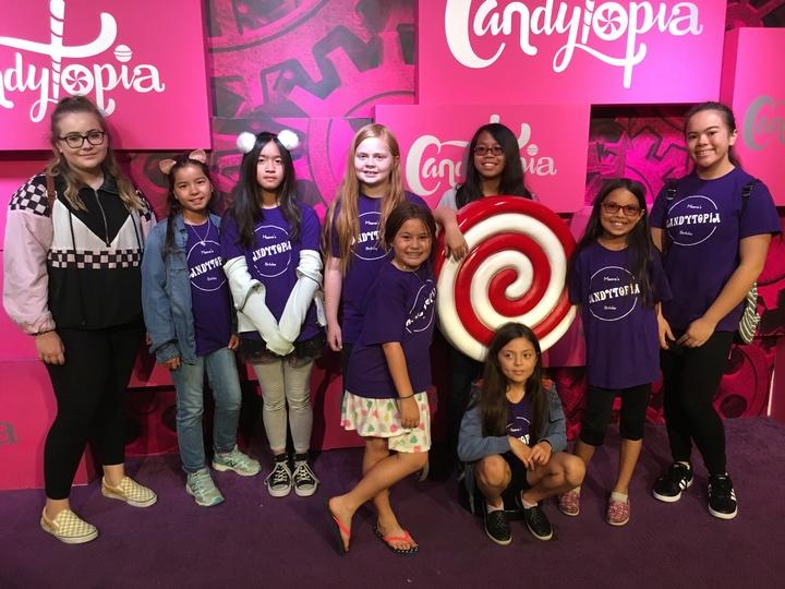 Maeves Candytopia Birthday T Shirt Photo