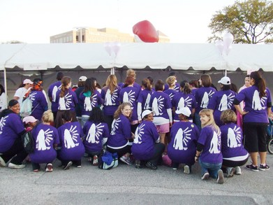 Ppnt's Komen Dallas Team T-Shirt Photo