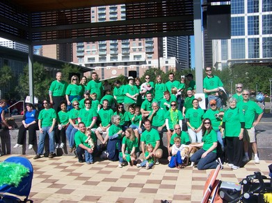 Vision Walk 2009 T-Shirt Photo