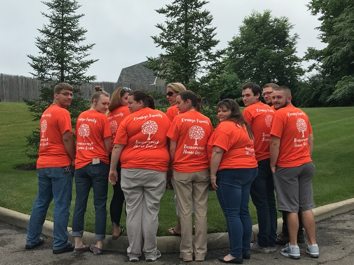 Orange Family T-Shirt Photo