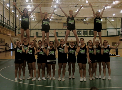 Novi Varsity Cheerleading T-Shirt Photo