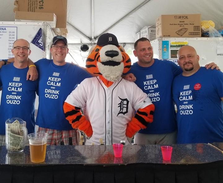 Opa Fest Taverna Gets A Visitor T-Shirt Photo