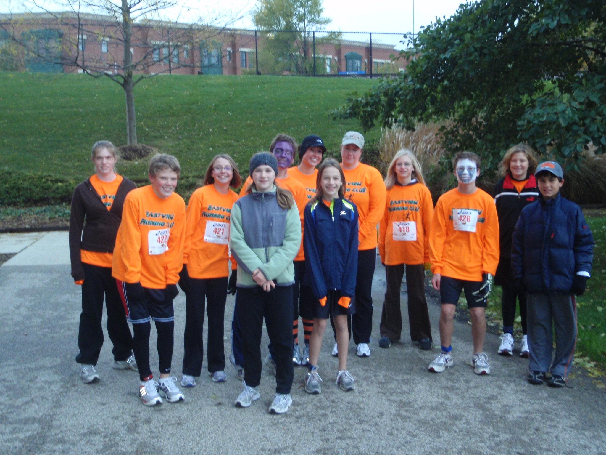 eastview running club 2009