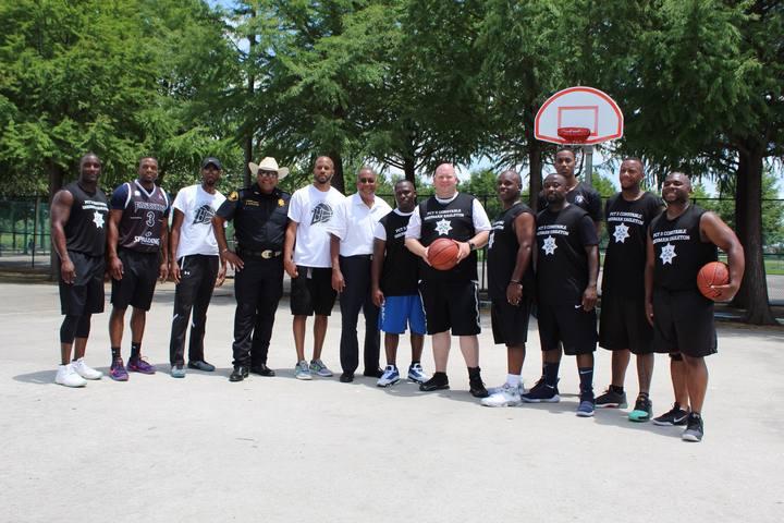 Constable Basketball Game T-Shirt Photo
