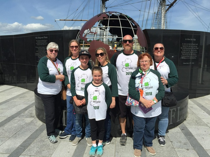 Dunst Family Trip To Ireland  T-Shirt Photo