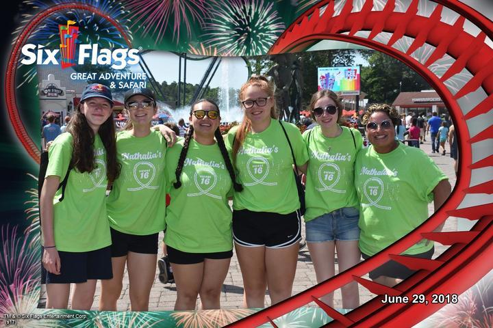 Six Flags Sweet 16 T-Shirt Photo