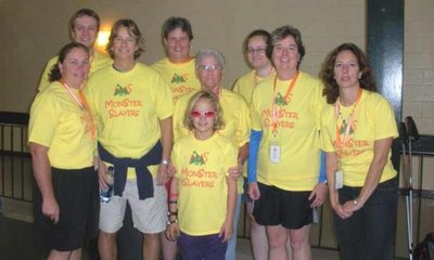 2009 Mon Ster Slayers   Day 1 !!!!!!! T-Shirt Photo