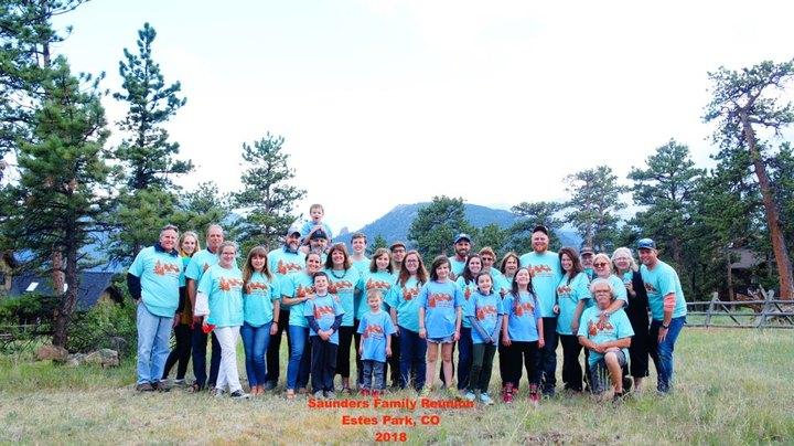Saunders Family Reunion June 2018 T-Shirt Photo