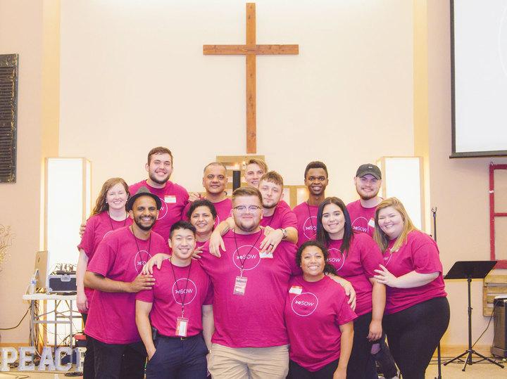 The Elim School Of Worship (E Sow) Team T-Shirt Photo