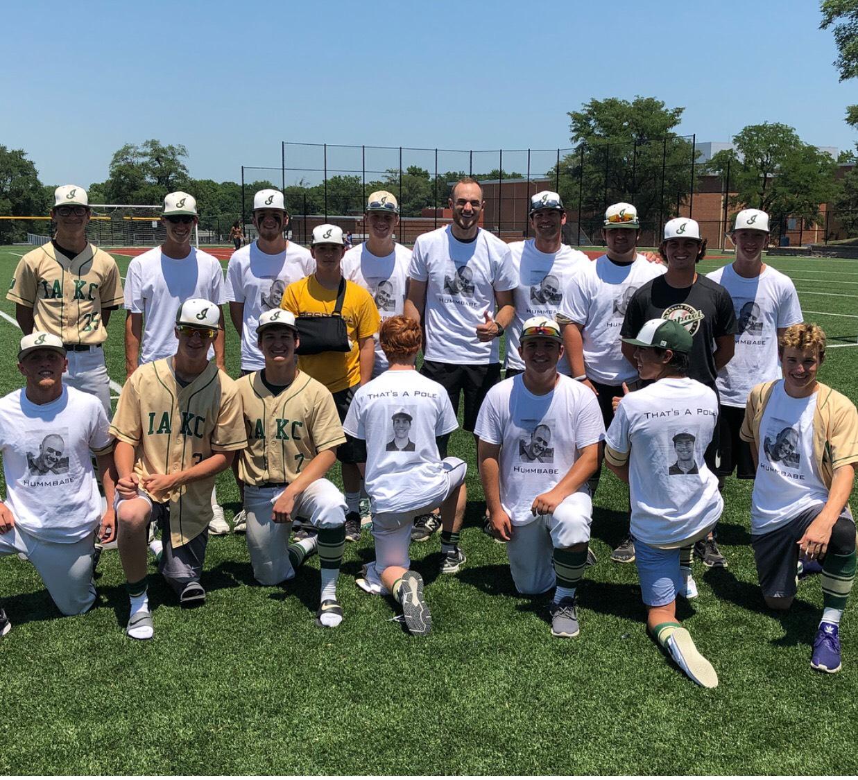 Custom T Shirts For Kansas City Impact Athletes 18u Baseball Team