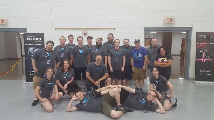 Team Frantic Crew Photo T-Shirt Photo