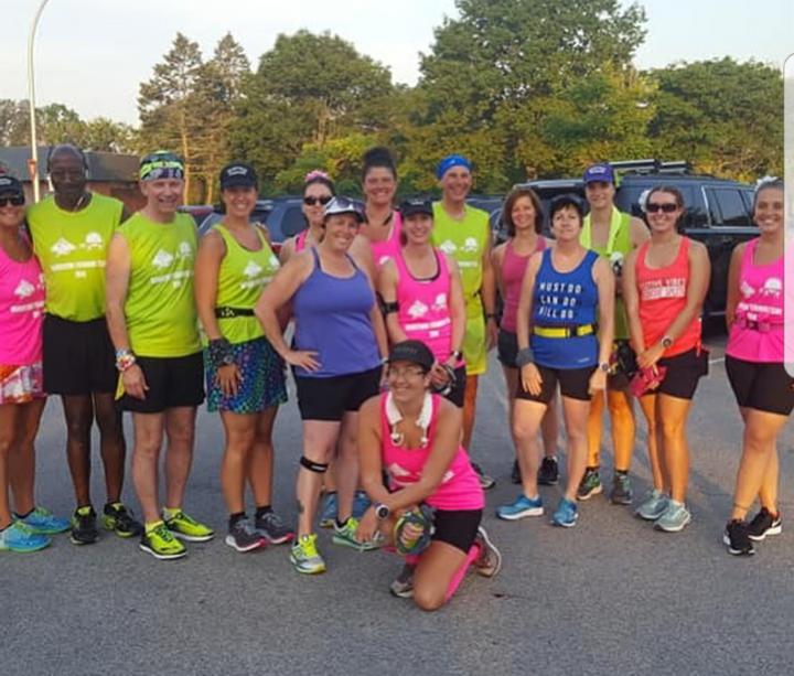 First Group Long Run At Cedar Creek Park T-Shirt Photo