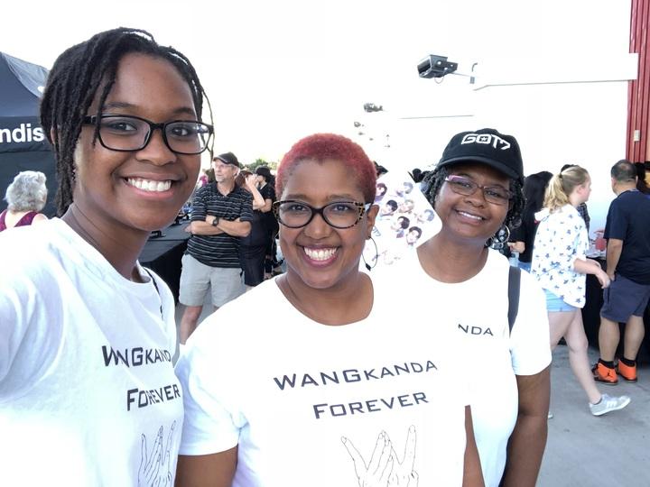 Jackson Wang Fans In La T-Shirt Photo