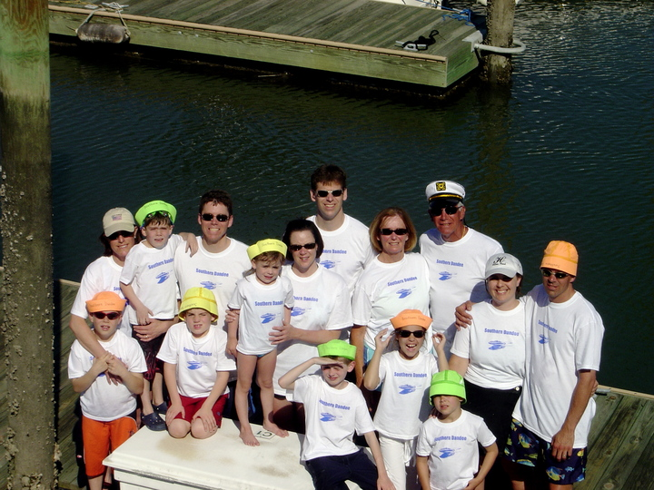 Captain And Crew T-Shirt Photo