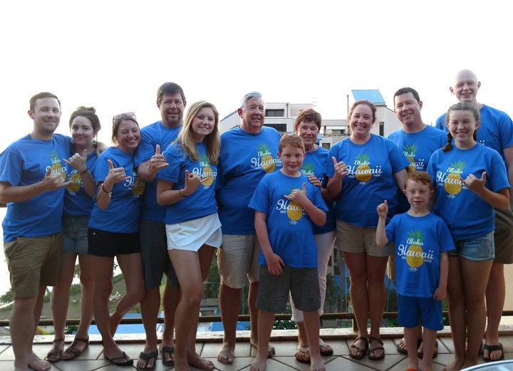 Deppe Family 50th Wedding Anniversary Vacation T-Shirt Photo