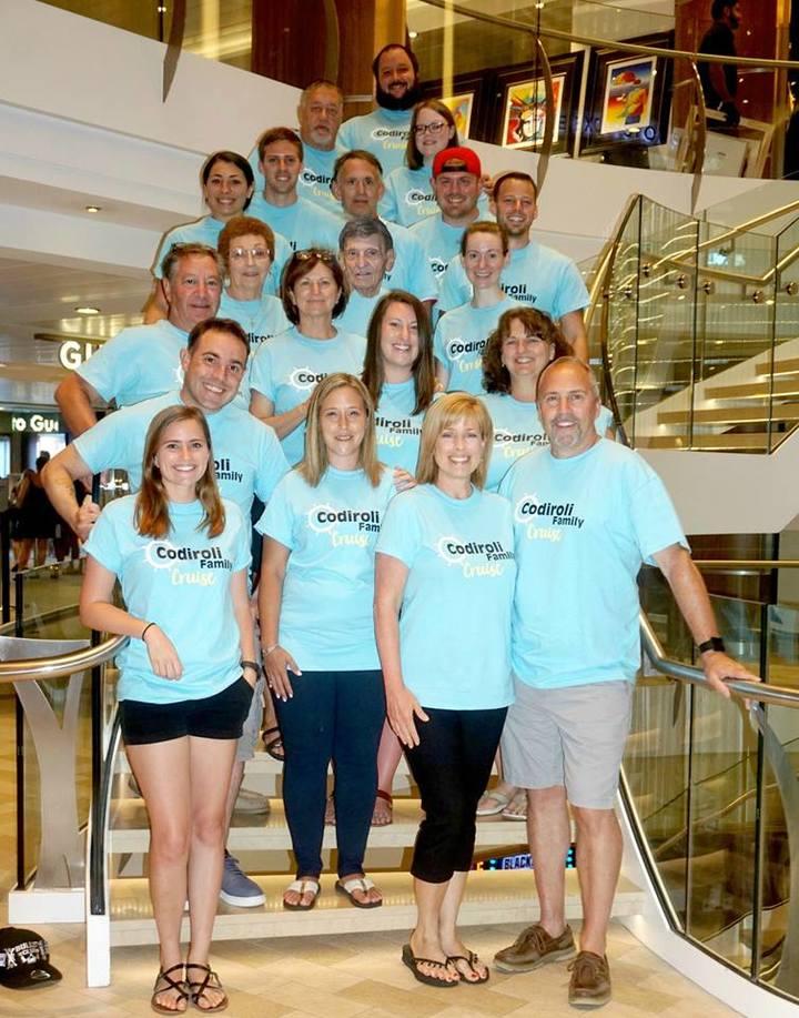 Codiroli Family Cruise! T-Shirt Photo
