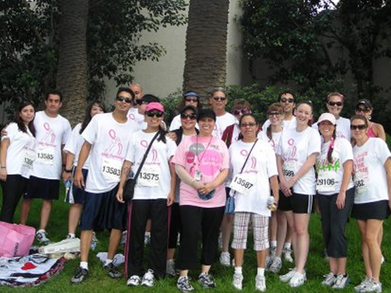Team Goonies At Race For The Cure Oc T-Shirt Photo
