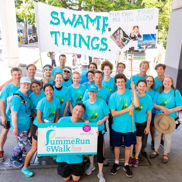 Swamp Things At Swedish Summe Run 2018 T-Shirt Photo