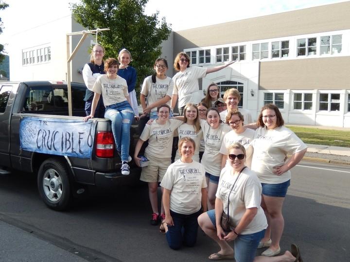 Crucible On Parade T-Shirt Photo