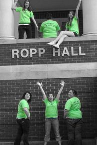 "2nd Floor Ropp Addition  ""We're Nuts Up Here"" T-Shirt Photo"