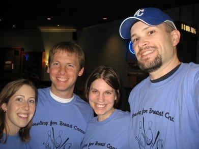 Violet Bowlers T-Shirt Photo