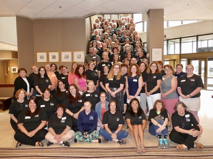The 2018 Nyla/Ssl Summer Leadership Group T-Shirt Photo