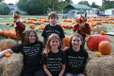 The Frightmaze Kids T-Shirt Photo
