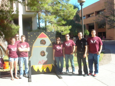 Daedalus Astronautics @ Arizona State University! T-Shirt Photo