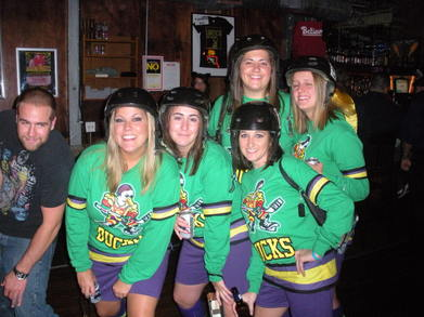 Mighty Ducks Halloween Costume T-Shirt Photo
