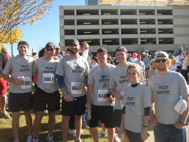 Team Bonvoy Tulsa Run T-Shirt Photo
