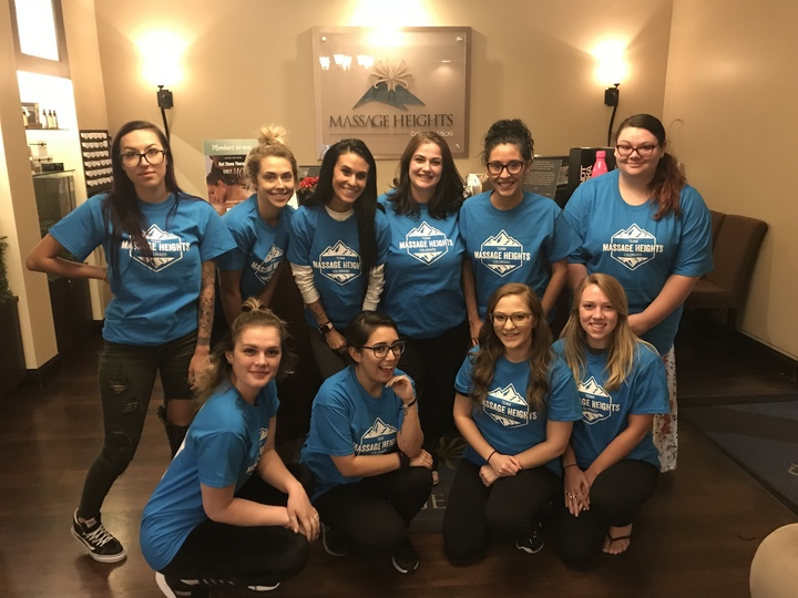 Team Masssge Heights  T-Shirt Photo