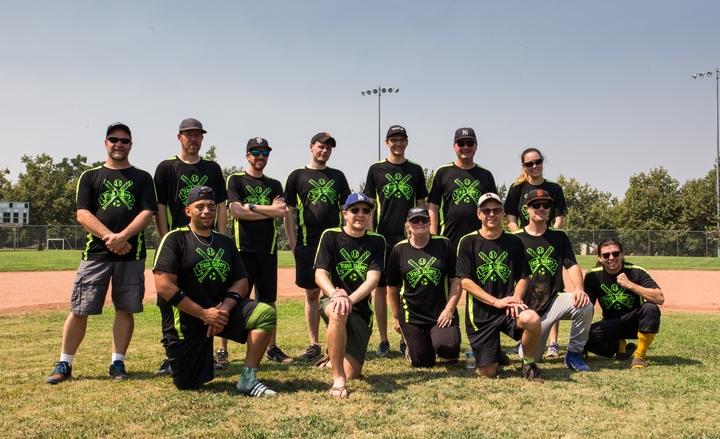 Cal Recycle's Softball Team T-Shirt Photo