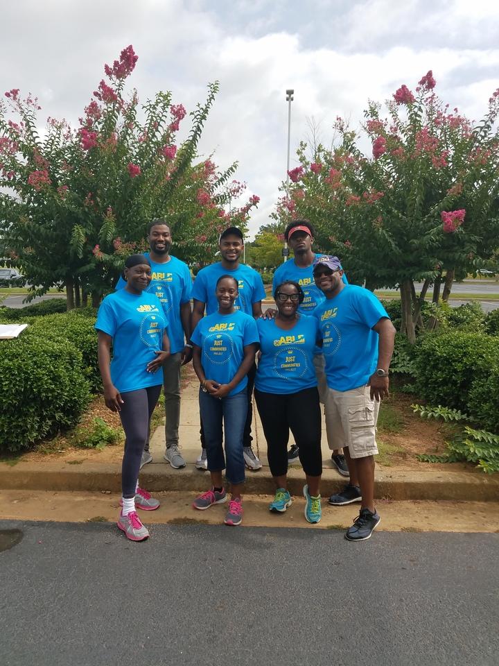 Just Communities Project Team T-Shirt Photo