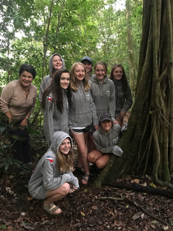 Costa Rica, Adventure Girls And Custom Ink T-Shirt Photo
