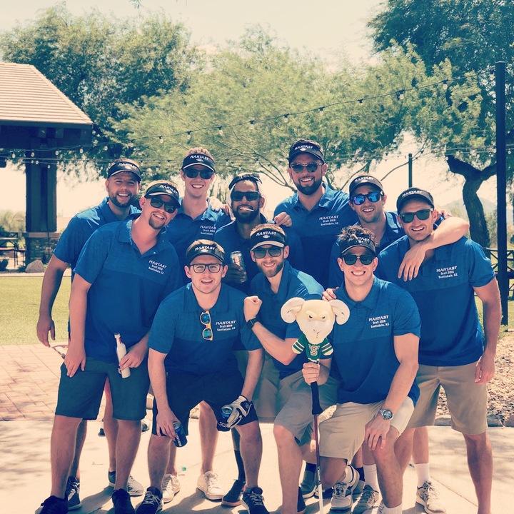 Mantasy Football Golf Trip T-Shirt Photo