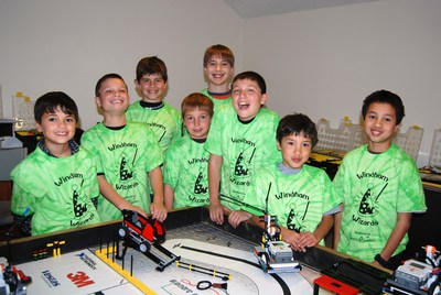 Fll Team, The Wizards T-Shirt Photo