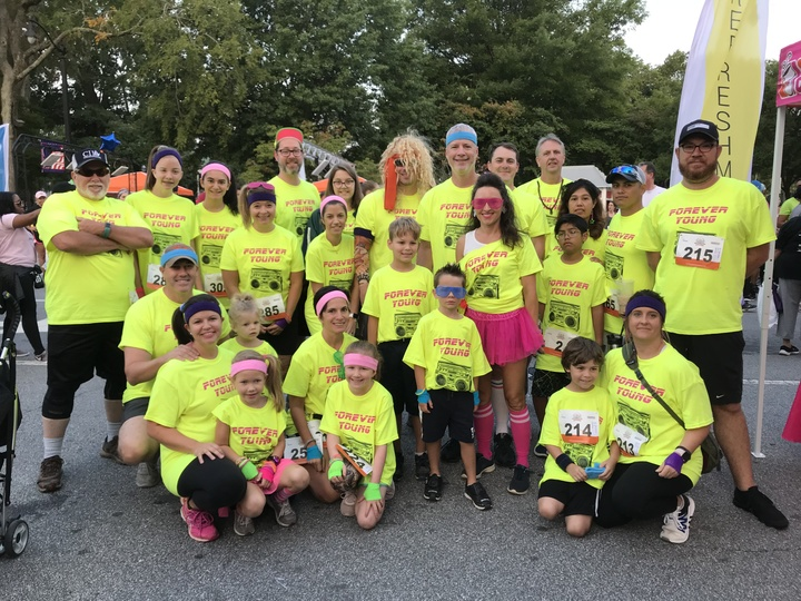 Forever Young 5k T-Shirt Photo