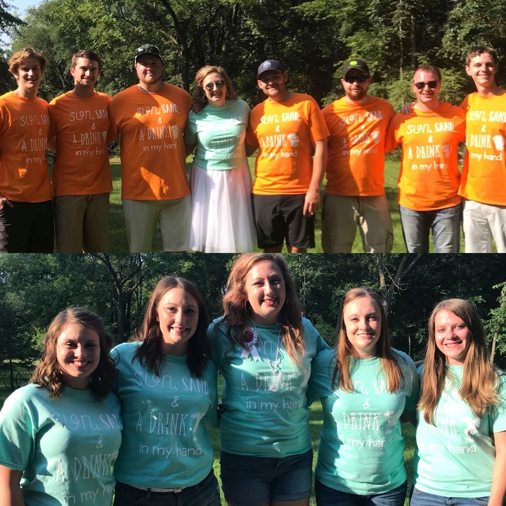 #Destination Stabenow Wedding Party! T-Shirt Photo