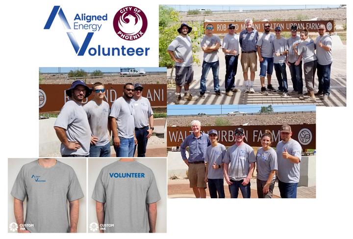 Aligned Energy Volunteers Phoenix T-Shirt Photo
