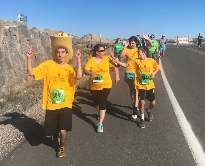 On The Pocatello Marathon Race Course T-Shirt Photo