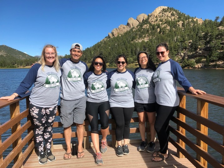 Camp Choggon Wedding Hike! T-Shirt Photo