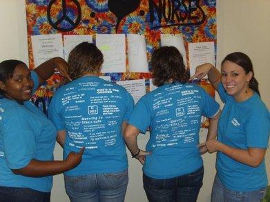 Life Of A Nurse T-Shirt Photo