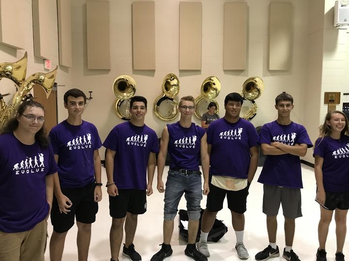 Cabot High School Tuba Section T-Shirt Photo