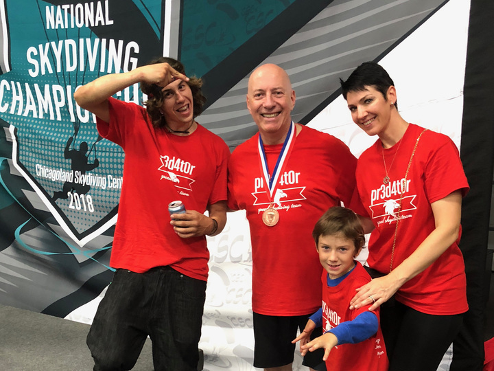 Pr3d4t0r Speed Skydiving Team Wins Bronze At 2018 National Championship T-Shirt Photo