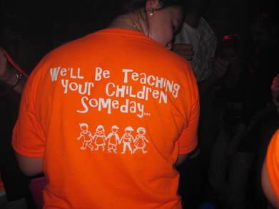 Early Childhood Education Bar Crawl T-Shirt Photo